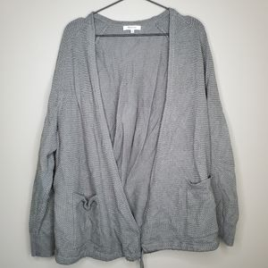 Madewell Palisades Green Open Knit Cardigan